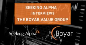 An Interview With Boyar In Seeking Alpha