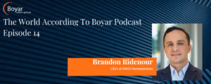 The World According To Boyar Podcast: Episode 14: Brandon Ridenour
